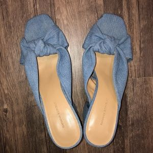 BANANA REPUBLIC Denim 9.5 Heels